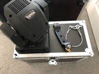 x2 LED (60W) DMX Moving Head in flightcase