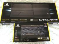CORSAIR K63 Wireless Mechanical Gaming Keyboard & Lapboard Bundle