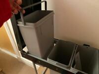 Kitchen Recycling bins