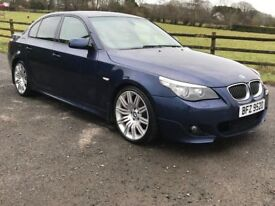 LCI FACELIFT MODEL 2008 BMW 530D M SPORT AUTO, trade in considered, credit cards accepted