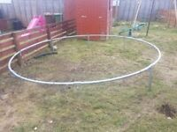 Base of trampoline
