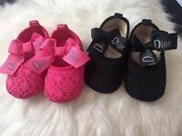 Baby Dior soft soles
