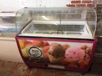 10 scoop ice cream machine holder display