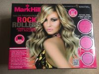 Mark Hill heated hair rollers & case - NEW