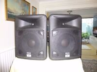For sale - Two peavey speakers with stands.