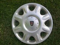 ROVER WHEEL TRIMS FULL SET GREAT CONDITION