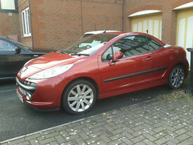 Fun in the Sun Peugeot 207cc GT Turbo convertible looking for a new home