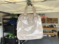 Marc By Marc Jacobs Totally Turn Patent Mag Bag - Authentic