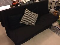 Ikea sofabed for sale good condition sofa bed black
