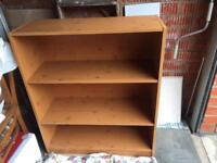 Oak Colour Bookcase