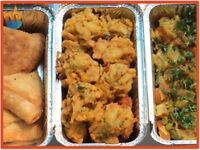 Nabz Biryaniz Homemade Pakoras -Halal. Tailored to your taste buds. **Collection** - Party Catering