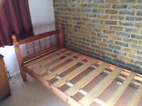 Pine 3 foot single bed frame