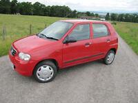 Suzuki Alto 1.1 63,000 miles ONLY £30 Road Tax, 11 months MOT , £695