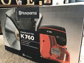 Saw for sale: Husqvarna K760 - still in the box brand new
