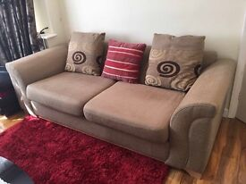 fabric sofa from DFS