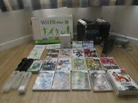 Nintendo wii and wii fit plus big bundle