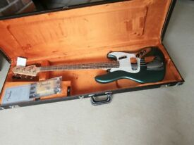 Fender Custom Shop '64 Jazz Bass Rare Sherwood Green