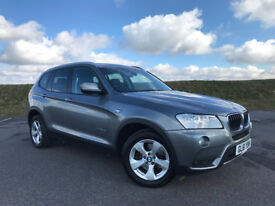 STUNNING BMW X3 2.0 D WITH VERY LOW MILEAGE AUTOMATIC AND FULL SERVICE HISTORY! HPI CLEAR!