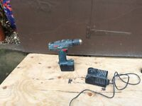 Bosch battery gun with 1- 12v battery and charger