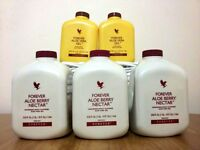 CRAZY OFFER - 5 Forever Aloe Vera 1 litre. New and sealed. Ex-Forever Distributor.