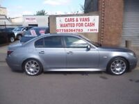 BMW 530i M Sport,4 door Saloon,rare 6 speed manual,FSH,heated leather interior,runs and drives well