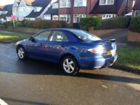 MAZDA 6 SPORT DIESEL 2003 REG TAX'D & MOT'D FULL LEATHER INTERIOR BARGAIN PRICE £650