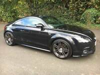 * FINANCE AVAILABLE* WEB SPECIAL * Audi TT 2.0 TFSI Black Edition 2011 61 Reg Coupe 42k