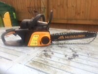 McCulloch Xrtreme 8-42 chainsaw