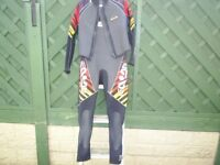 seadoo wetsuit long john with bolero jacket size L/G exellent condition