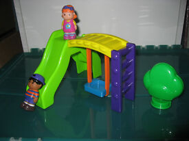 Happyland swing and slide in excellent condition from a non-smoking home. Ideal Christmas present!