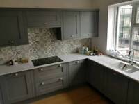 Kitchen Installation fitters joints laminated flooring doors tiling plumbing plasterers