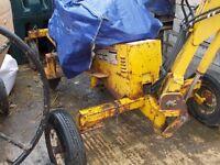 Mantis Towable Digger - Benford ME130 Excavator