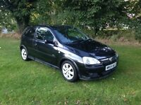 Vauxhall Corsa sxi 3 door 2005 cheap car