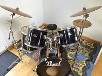 Drum Kit - Pearl Export (Black)