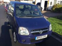 Vauxhall agila 1.0 expression 2005 5 door mini mpv mot April 39000 genuine miles history