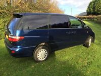 TOYOTA PREVIA 7 or 8 SEATER MANUAL 2.3 PETROL - LONG MOT, LOOKS AND DRIVES SUPERB