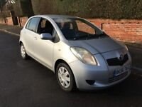 Toyota Yaris, 2007, 5-door one owner from new. Chain engine and long MOT and FSH