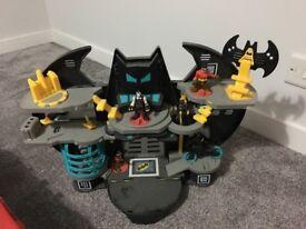 Good Condition Batman and friends batcave