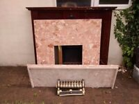 FREE Used electric fire with surround and fascia