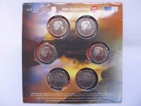 Lord of the Rings Limited Edition New Zealand Coin collection - six 50C coins in presentation pack.