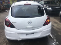 BREAKING - VAUXHALL CORSA D - 3 DOOR - BOOTLID TAILGATE - WHITE - ALL PARTS AVAILABLE