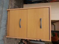 2 Drawer Filing cabinet with lock and key