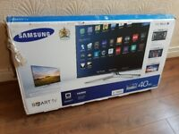 BOXED SAMSUNG 40-inch Smart FULL HD 3D ACTIVE LED TV-built in Wifi,Freeview HD,GREAT Condition