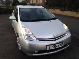 05 TOYOTA PRIUS T SPIRIT 1.5 HYBRID ELECTRIC 2 OWNERS