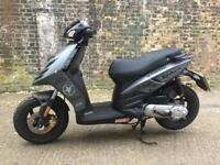 FULLY WORKING 2011 Piaggio Typhoon 50cc Scooter 50 cc learner legal. Very low miles.
