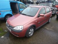 VAUXHALL CORSA - Y254WBJ - DIRECT FROM INS CO