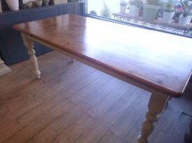 Stunning solid farmhouse table