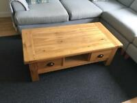 DFS chateaux coffee table