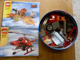 lego creator motion power helicoptor
