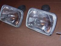 """USED HEAD LAMP H4, 7,5"""" x 5"""" for sale"""
